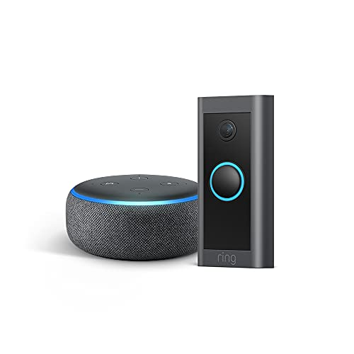 Free Echo Dot with when you buy a $45 Ring Video Doorbell in this crazy early Prime Day deal!