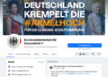 German government bodies urged to remove their Facebook Pages before next year
