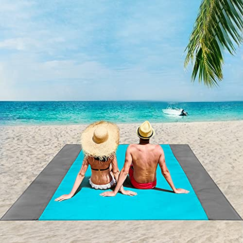 You'll never go to the beach again without this miracle beach blanket —it's waterproof and sand-proof!