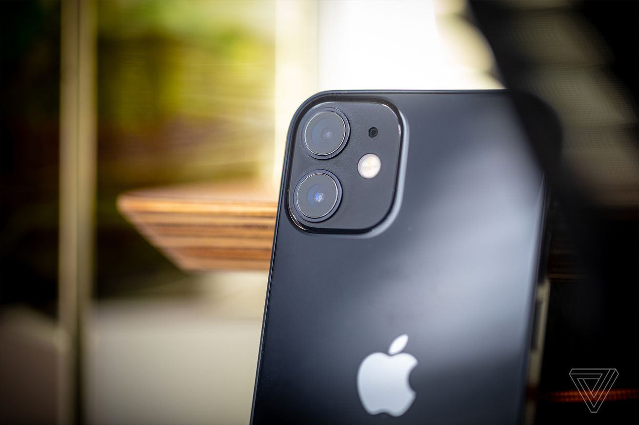 The iPhone 12 mini has a regular wide and an ultrawide camera