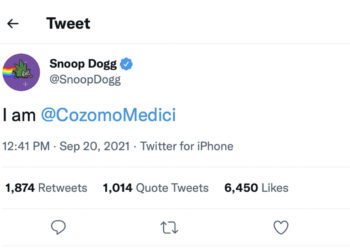 So Snoop Dogg just claimed to be a prominent NFT booster