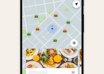 Uber Eats adds map feature so users can find nearest restaurants for pickup